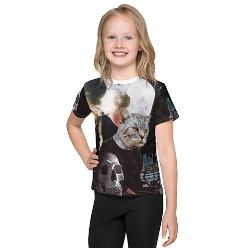 """Ozzy Oswald """"So Emo""""  Kids All Over Print T-Shirt"""