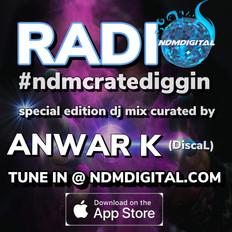 ndmdigital radio #9 special guest curator dj mix by Anwar K