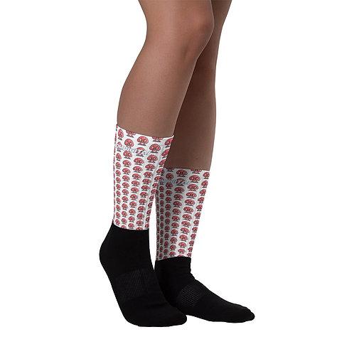 1-Up Magic Mushroom Fun Socks