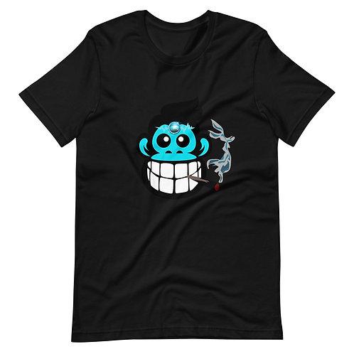 """Smok'n Joe"" Raver Monkey Short-Sleeve Unisex T-Shirt"
