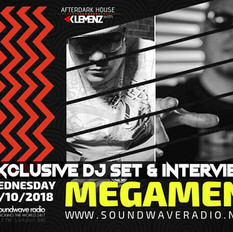 MEGAMEN NYC EXCLUSIVE INTERVIEW & GUEST MIX ON SOUNDWAVE RADIO 92.3 FM LONDON