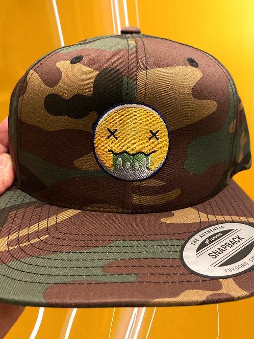 Acid Trip Undergound Camo Snap Back Hat