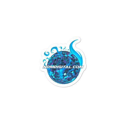 Astral Flame Disco Ball Vinyl Stickers