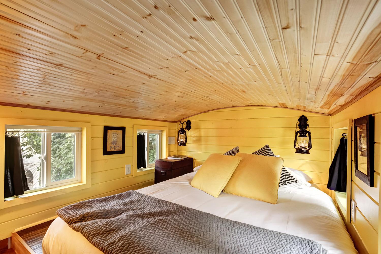 Arthur Tiny House Sleeping Loft
