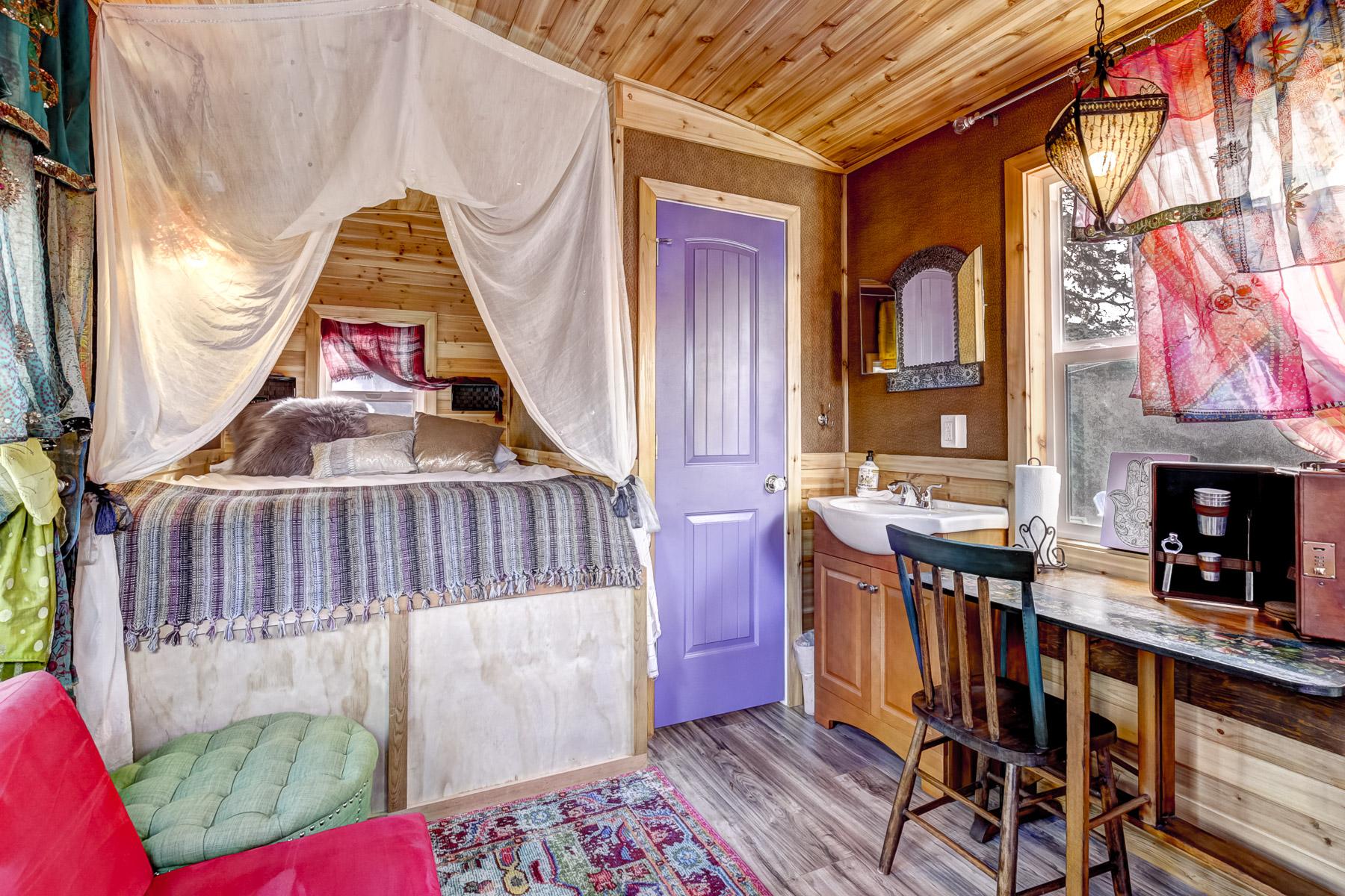 Gypsy Wagon Tiny House at Tiny Digs