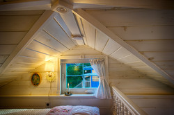 cottage tiny house ceiling
