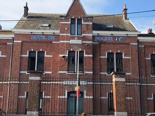 Hôtel de Police de La Louvière phase 1