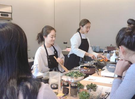WMF様アーユルヴェーダお料理教室イベント(身体の中からキレイになるホリディレシピ)