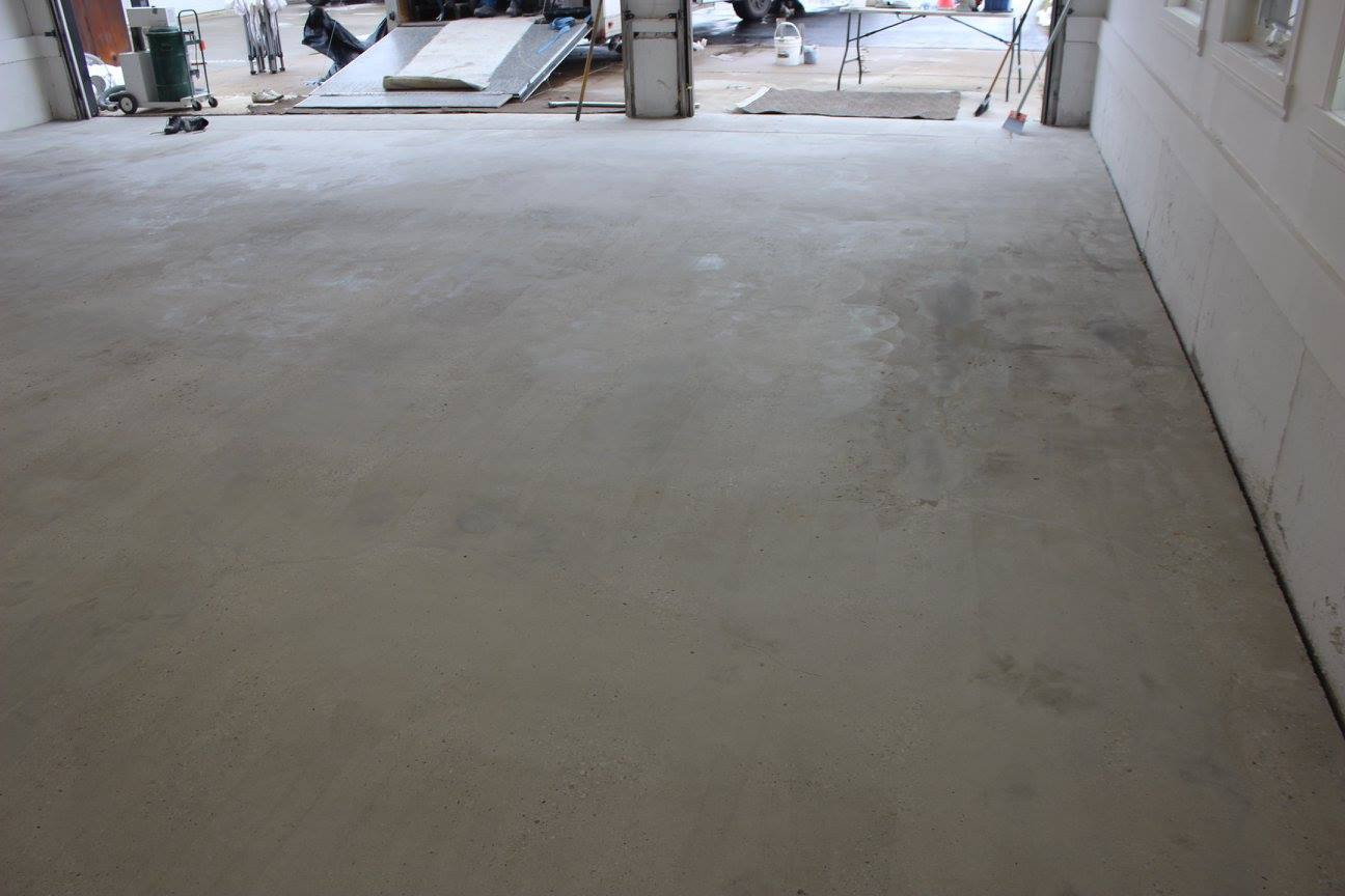 Concrete Floor After Repair