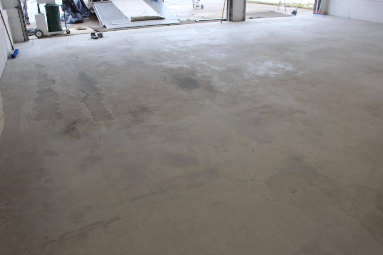 Concrete Floor After Repair