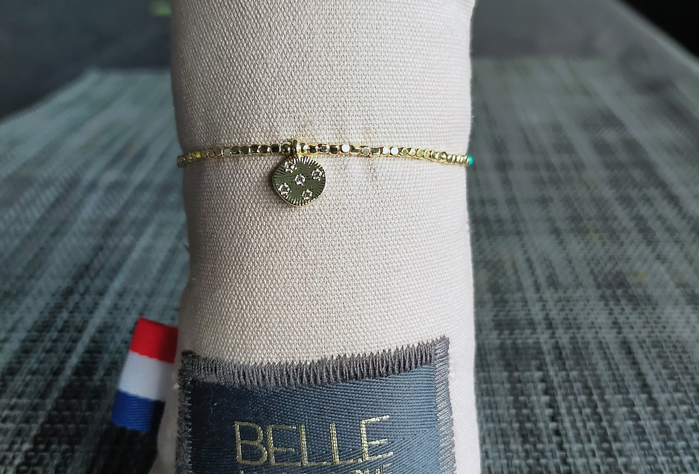 """Bracelet réglable """"Belle Mais Pas Que"""""""