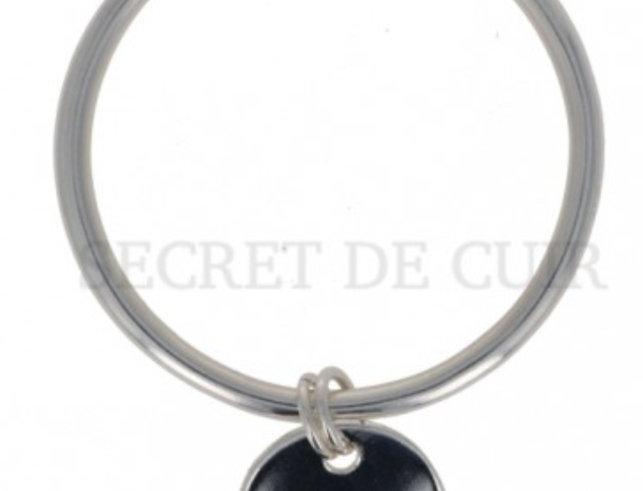 Bracelet Jonc pastille Secret De Cuir