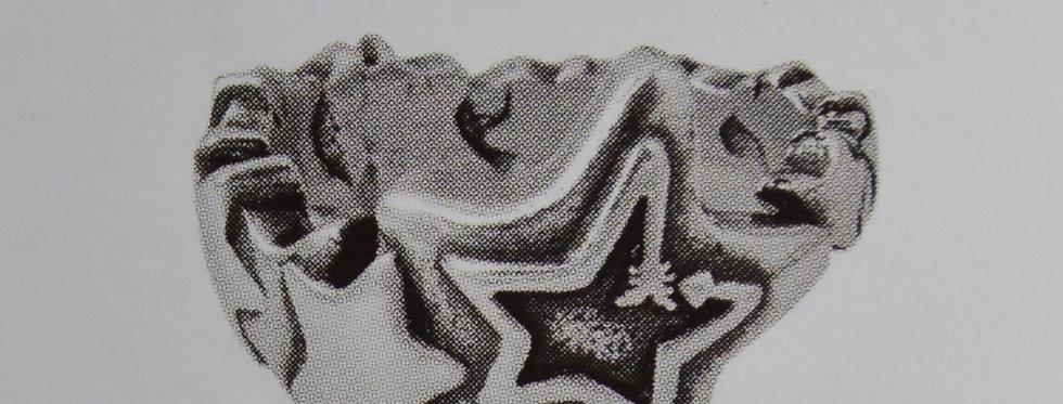 Bague CICLON con estrella. Ref: 192517