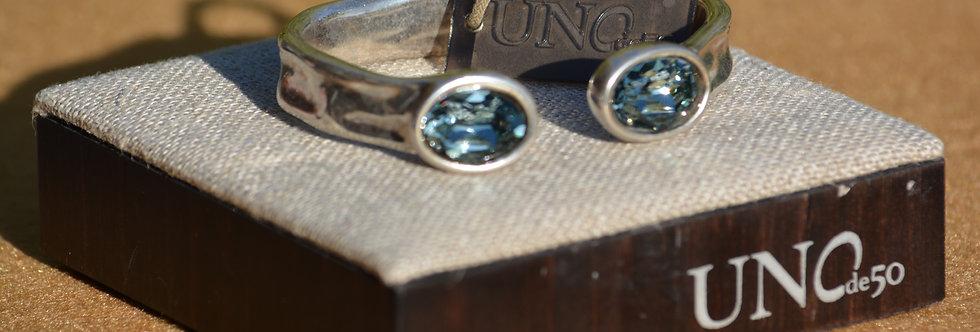Bracelet UNO de 50. Ref: PUL1818AZUMTLOM