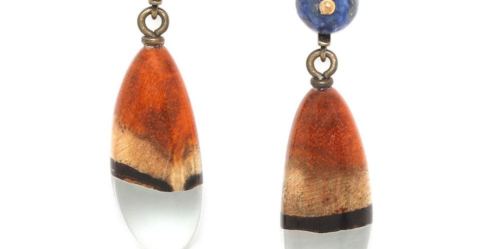 Boucles d'oreilles NATURE 12--74357