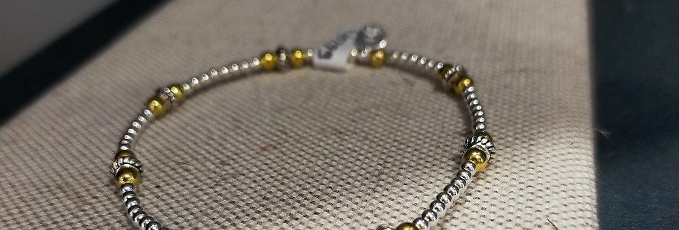 Bracelet argent Sable chaud