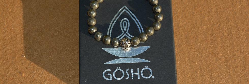 Bracelet GOSHO La Pyrite