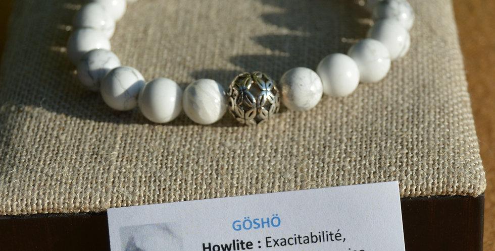 Bracelet GOSHO Howlite