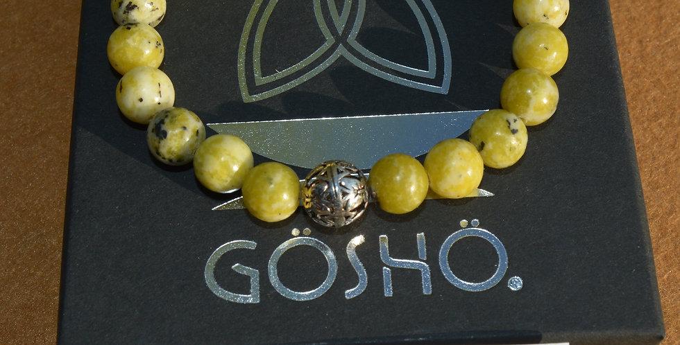 Bracelet GÖSHÖ Turquoise d'Afrique