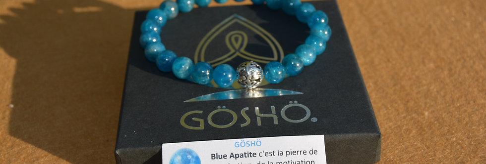 Bracelet GOSHO Blue Apatite