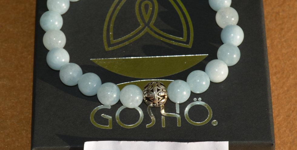 Bracelet GOSHO Aigue marine