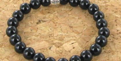 Bracelet GOSHO Onyx Noir
