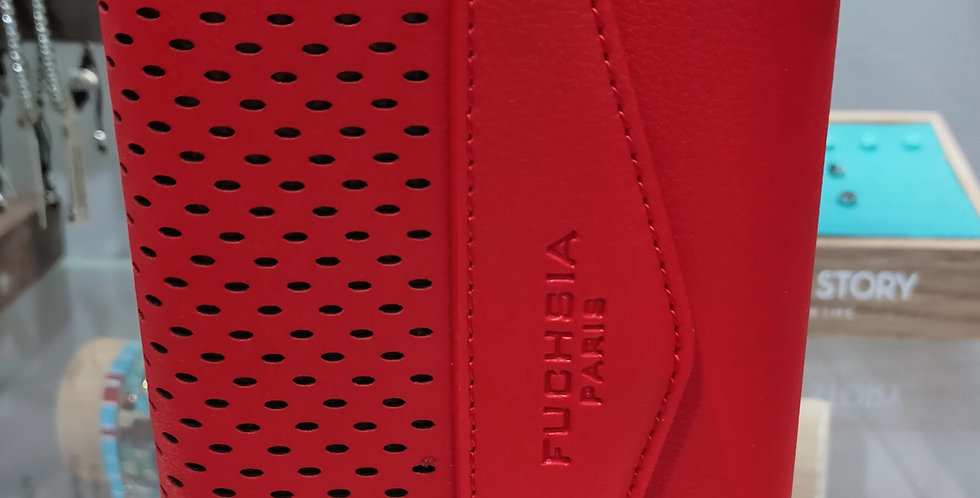 Portefeuille marque Fuchsia