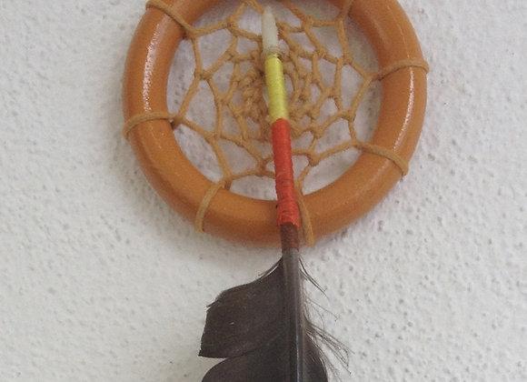 Attrape rêves  bois peint  marron clair - ref: DC 141006