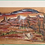 Thumbnail: Paysage Arizona - End of the day in Arizona - USA - peinture originale sur cuir