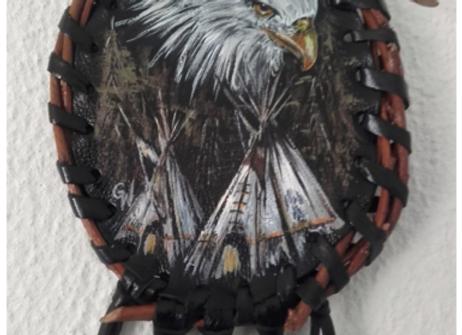 """Bouclier de protection - mandella amérindien - """"Eagle Spirit - ref: M 170201"""