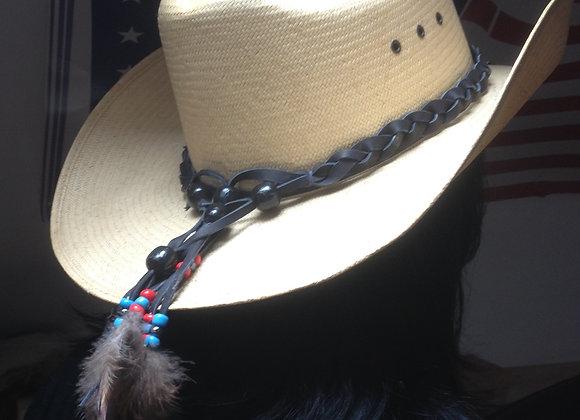 Tour de chapeau cuir - ref TC 1