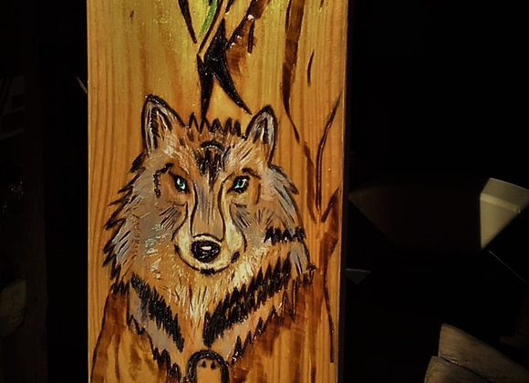 Totem du Loup (naissance) - ref Totem 11