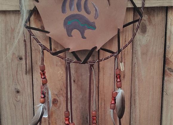 Bouclier de protection - Mandella amérindien - bear Spirit - ref: M 210101