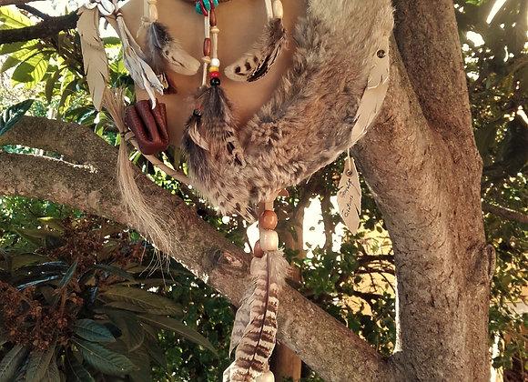 Bouclier de protection - mandella amérindien naturel - ref: M 170101