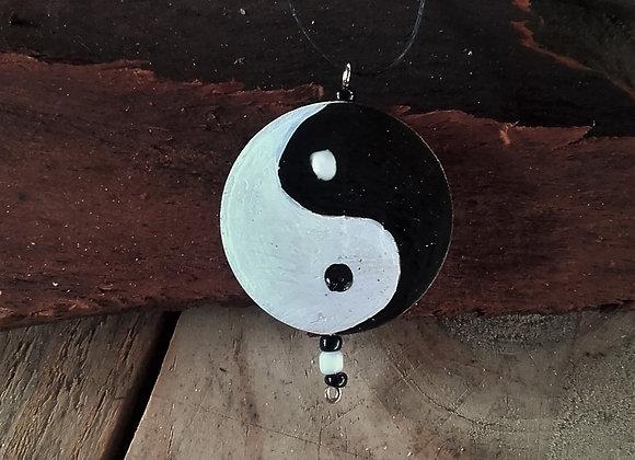Pendentif Yin yang - ref: P YY1