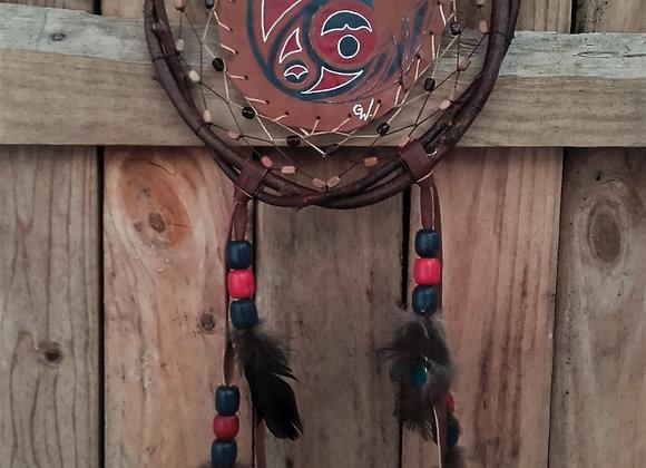 Bouclier de protection, mandella aigle Haïda - Ref: M 210302