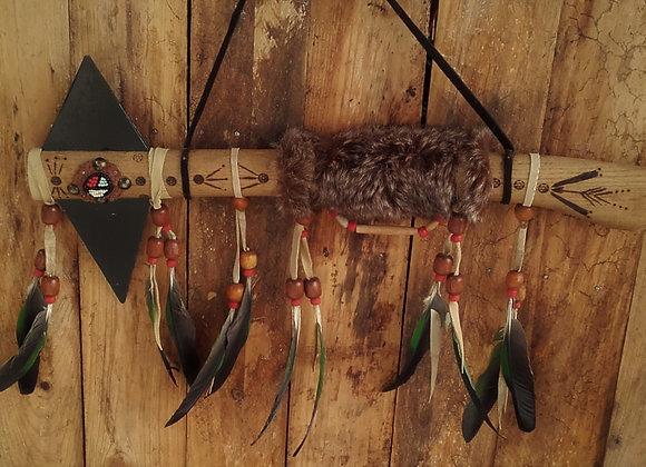 Casse-tête style amérindien - tomahawk décoratif - ref: Tomahawk 2