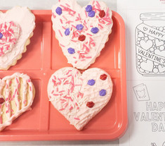"""""""Hearts"""" cookie kit"""