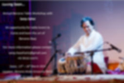 Benares Tabla Workshop