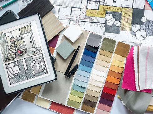 Top view of Architect & Interior designe