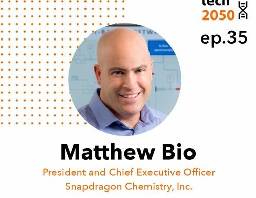 Snapdragon Chemistry CEO Matt Bio talks continuous manufacturing in drug development on Biotech 2050