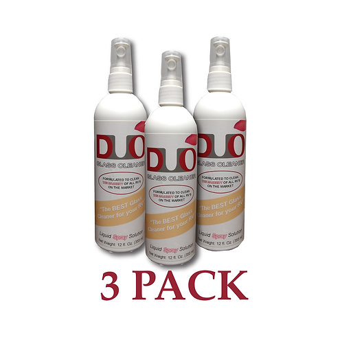 Duo Glass Cleaner - 3 PACK