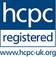 Logo for Health Care Professions Council of which Physiotherapists at Cayley Physiotherapy are registered with.