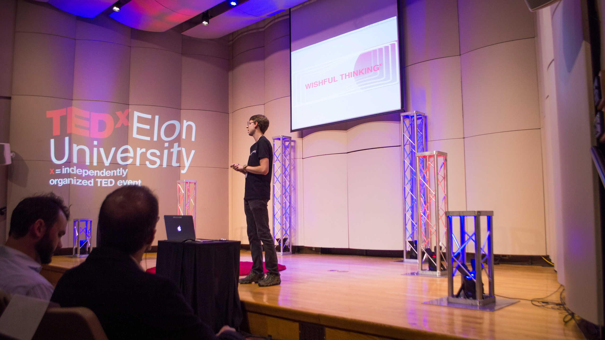 Ben Bridges, director for the TEDxElonUniversity conference, is a senior at Elon.