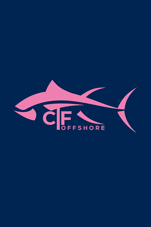 CTF Offshore Blue Buff/Pink Fish