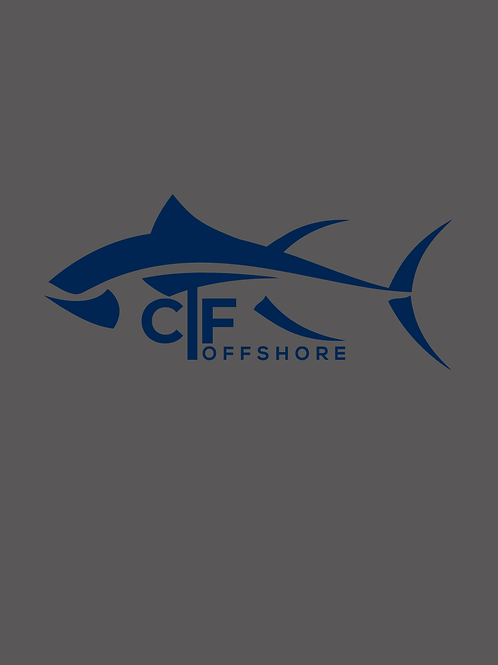 CTF Offshore Grey Buff/Blue Fish