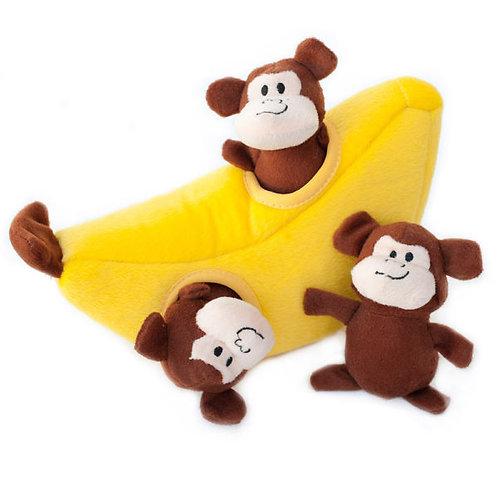 Interactive Burrow Money and Banana