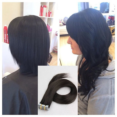 Pure Virgin Hair Tape-in Extensions