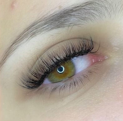 Hybrid eyelash extensions - Full set