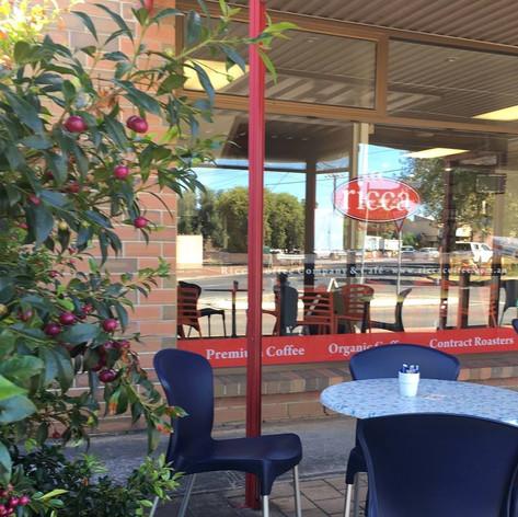 Ricca Cafe exterior circa 2016